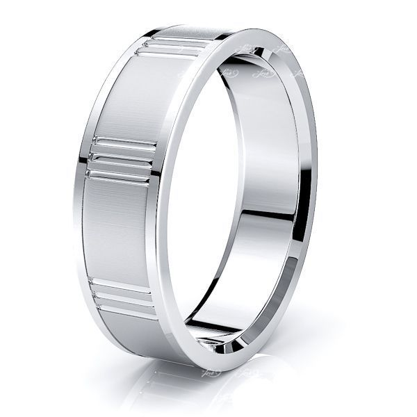 Marcus Solid 7mm Mens Wedding Ring