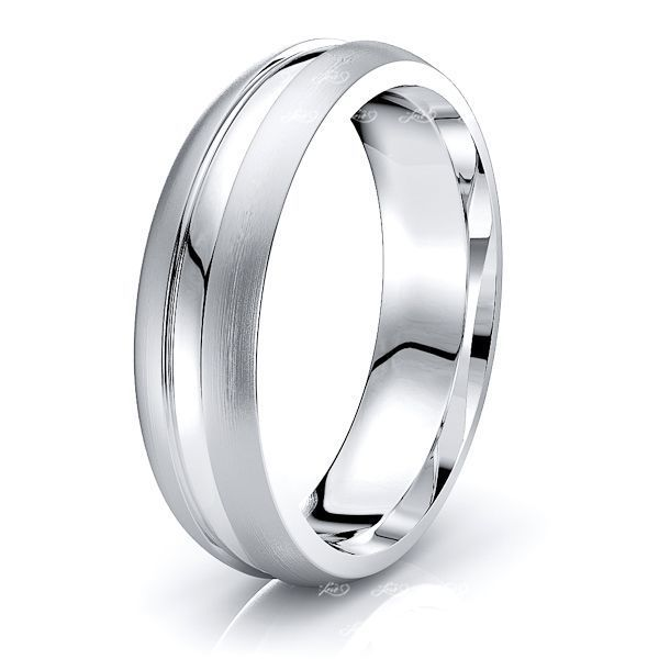 Bianca Solid 6mm Mens Wedding Ring