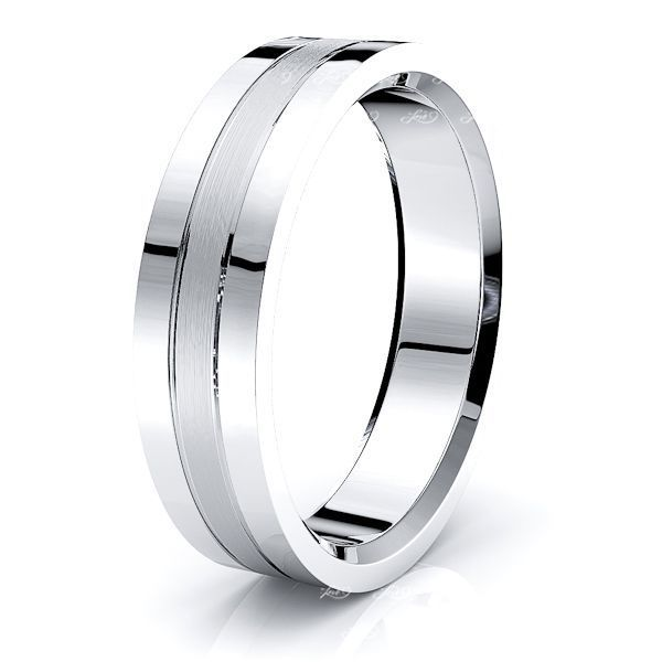 Cassian Solid 6mm Mens Wedding Band
