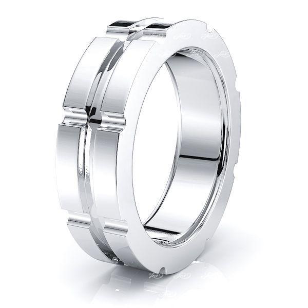 Mavis Solid 6mm Mens Wedding Ring