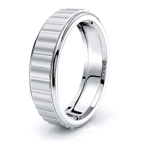 Winston Solid 6mm Mens Wedding Ring