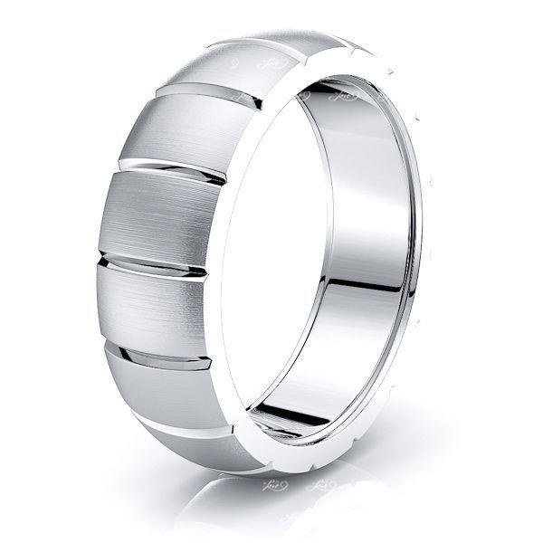 Ariana Solid 7mm Mens Wedding Ring