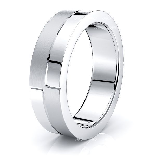 Lazarus Solid 6mm Mens Wedding Band