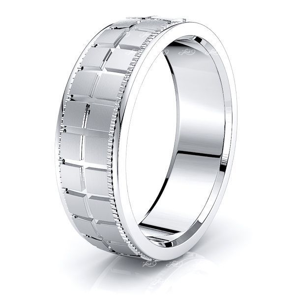 Calix Solid 7mm Mens Wedding Band