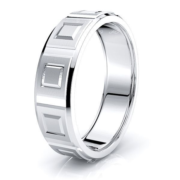 Gus Solid 7mm Mens Wedding Ring
