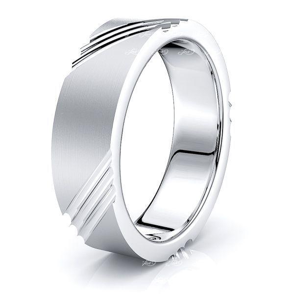 Kaia Solid 6mm Mens Wedding Ring