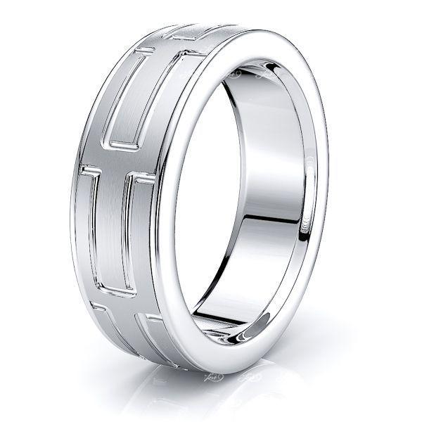 Brynn Solid 8mm Mens Wedding Ring
