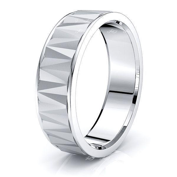 Ramona Solid 7mm Mens Wedding Ring