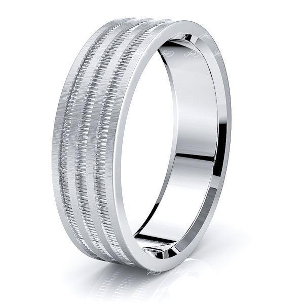 Ansel Solid 7mm Mens Wedding Ring