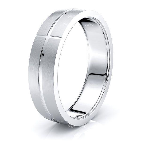 Auden Solid 6mm Mens Wedding Ring