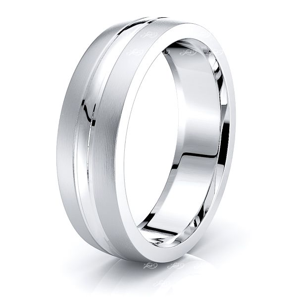 Clyde Solid 6mm Mens Wedding Ring