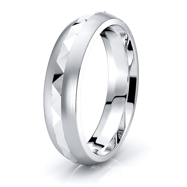Niamh Solid 6mm Mens Wedding Band