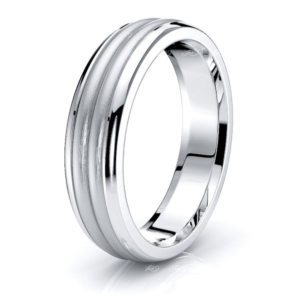 Lucian Solid 5mm Mens Wedding Band