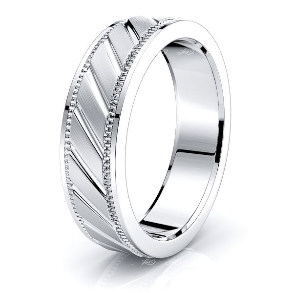 Victor Solid 6mm Mens Wedding Ring