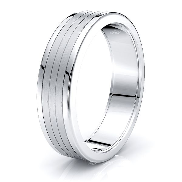 Gage Solid 6mm Mens Wedding Band