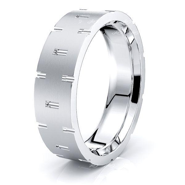Alana Solid 6mm Mens Wedding Band