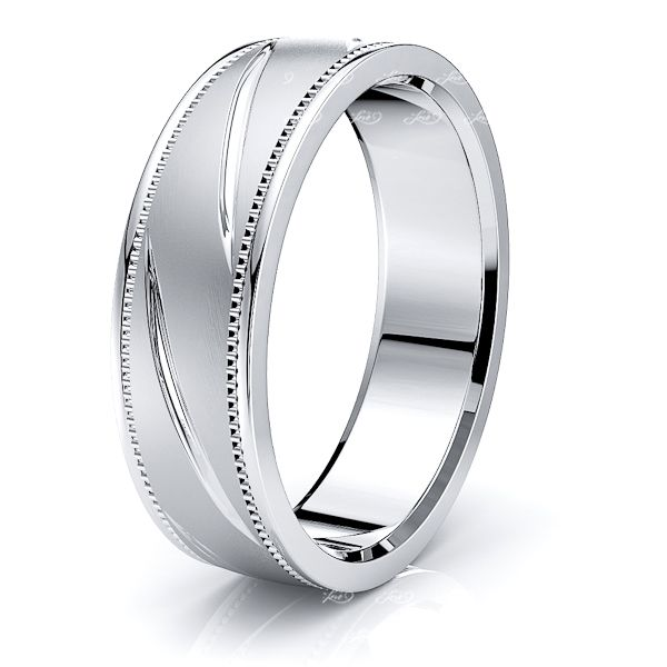 Millicent Solid 7mm Mens Wedding Ring