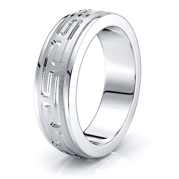 Julius Solid 7mm Mens Wedding Band