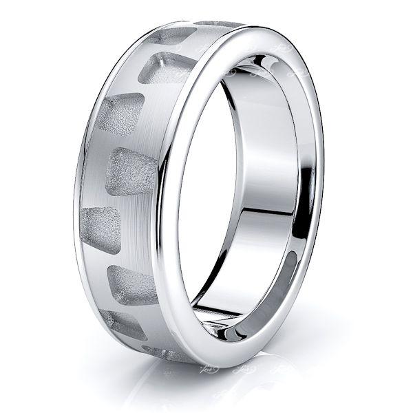 Mira Solid 7mm Mens Wedding Band
