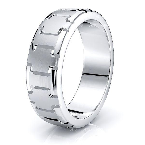 Inigo Solid 7mm Mens Wedding Band