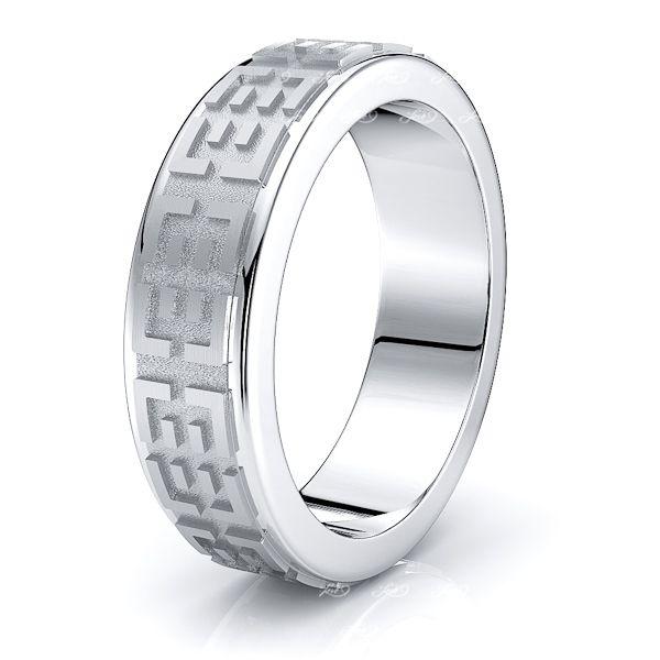 Ephraim Solid 7mm Mens Wedding Ring