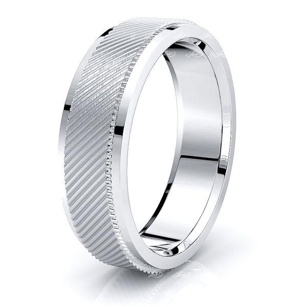 Cato Solid 7mm Mens Wedding Ring