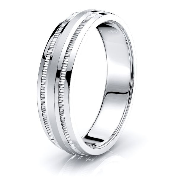 Lucille Solid 6mm Mens Wedding Ring