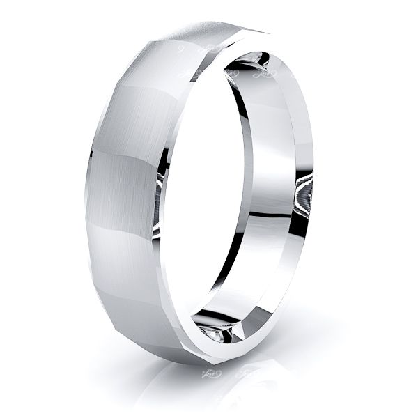 Lewis Solid 6mm Mens Wedding Ring