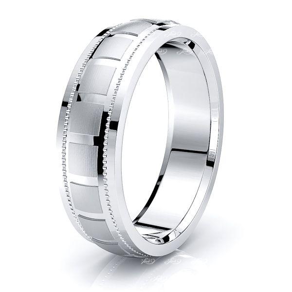 Judah Solid 6mm Mens Wedding Ring