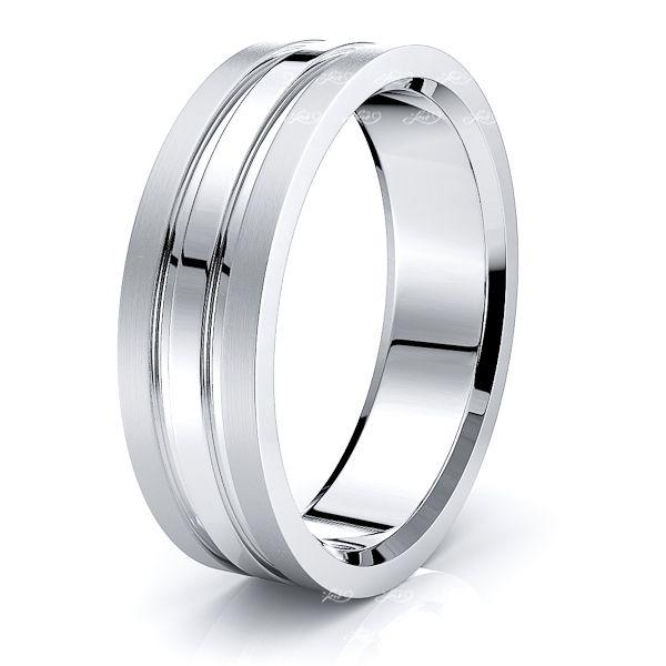 Birdie Solid 7mm Mens Wedding Ring