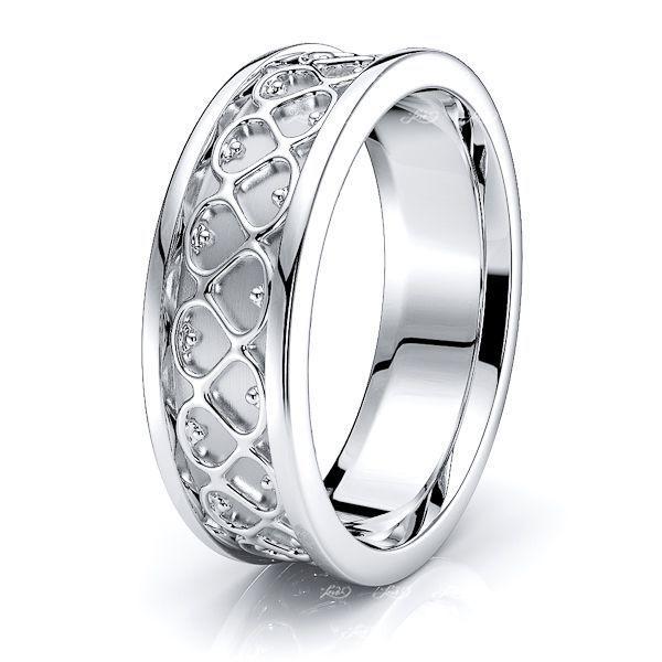 Kevin Celtic Knot Mens Wedding Ring