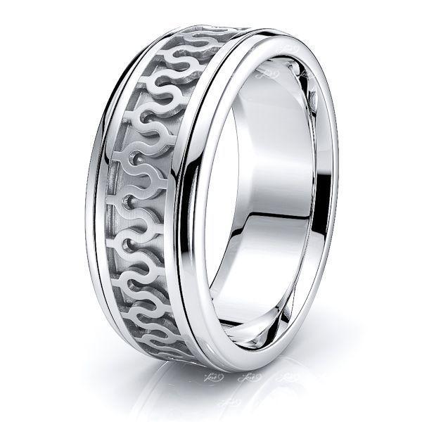 Tara Celtic Knot Mens Wedding Band