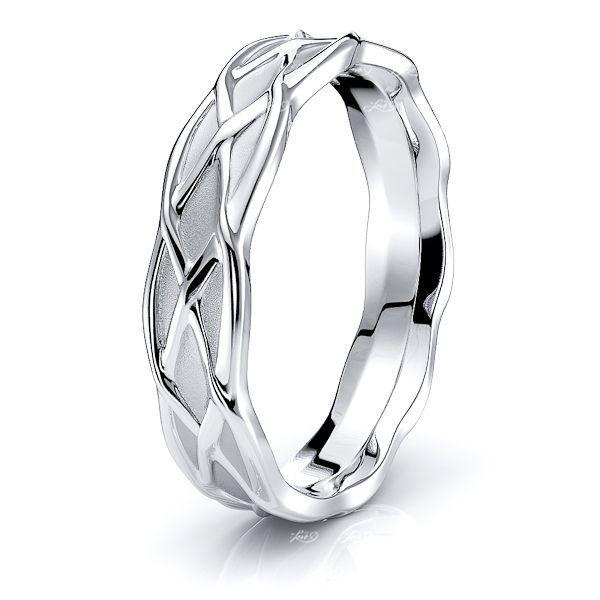 Brian Celtic Knot Mens Wedding Ring