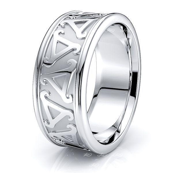 Darcy Celtic Knot Mens Wedding Ring