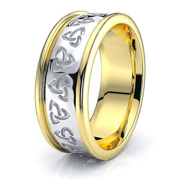 Craig Trinity Knot Mens Celtic Wedding Band