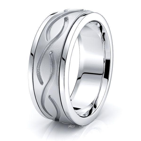 Cameron Celtic Knot Mens Wedding Ring