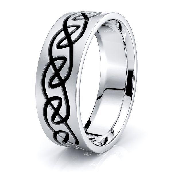 Harden Infinity Mens Celtic Wedding Ring
