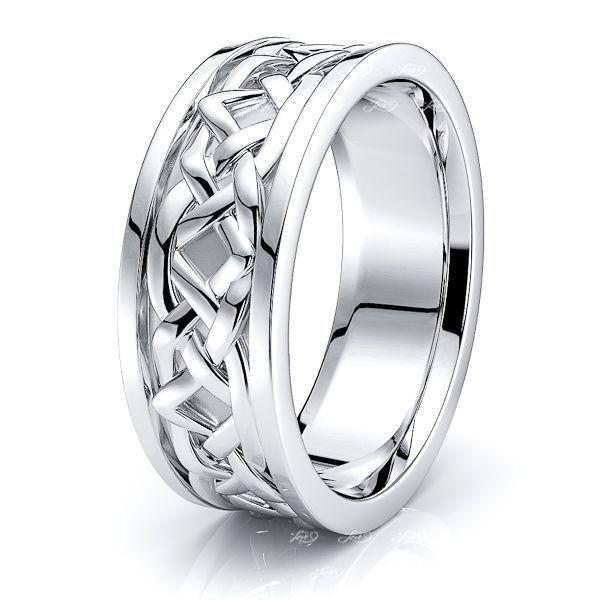 Avon Celtic Knot Mens Wedding Ring