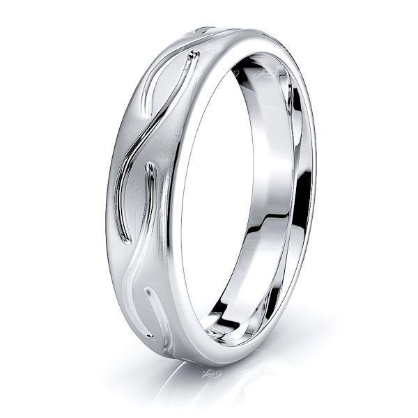 Oran Celtic Knot Mens Wedding Ring