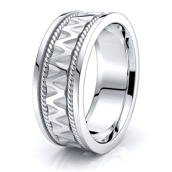 Parker Celtic Knot Mens Wedding Band