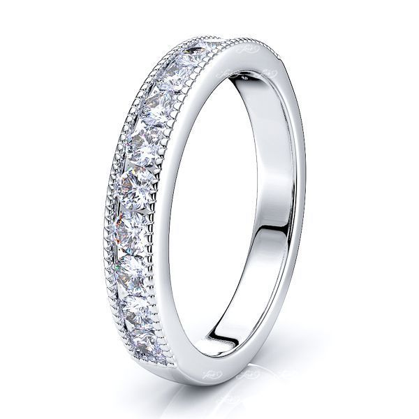 Stefania Diamond Women Anniversary Wedding Ring
