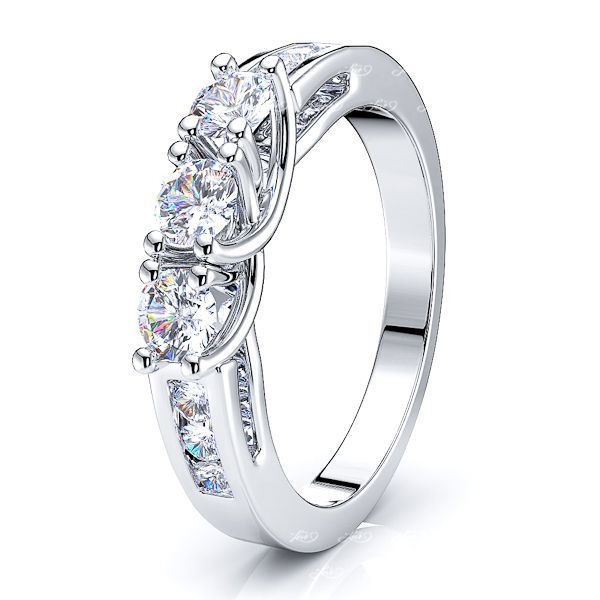 Igerne Prong Set Women Anniversary Wedding Ring