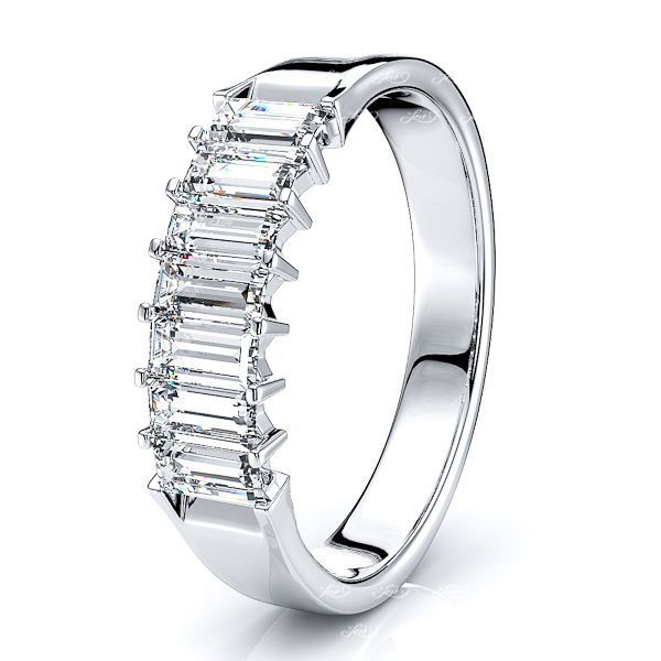 Grazia Prong Set Women Anniversary Wedding Band