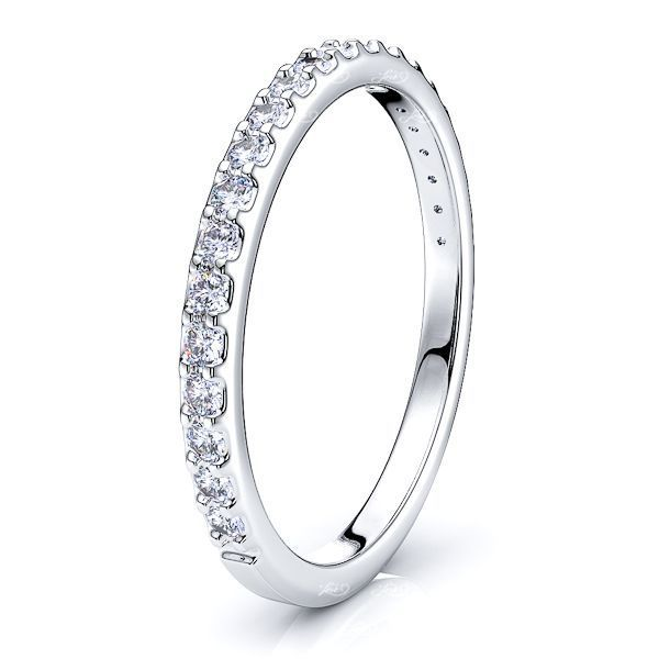 Cande Prong Set Women Anniversary Wedding Band