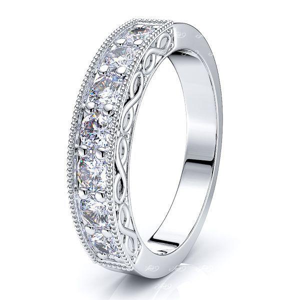 Candelaria Women Anniversary Wedding Ring