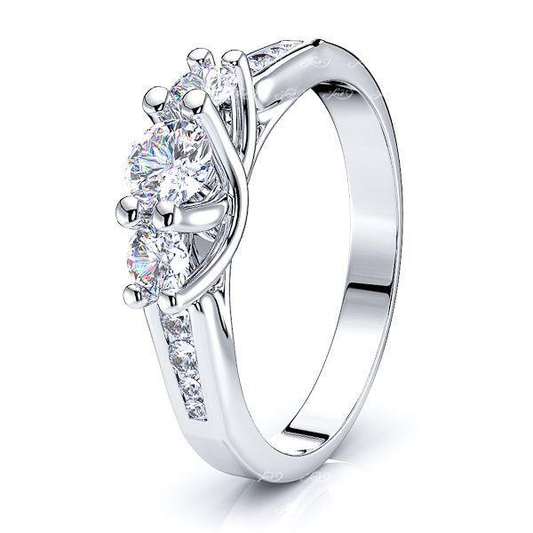 Igraine Prong Set Women Anniversary Wedding Ring