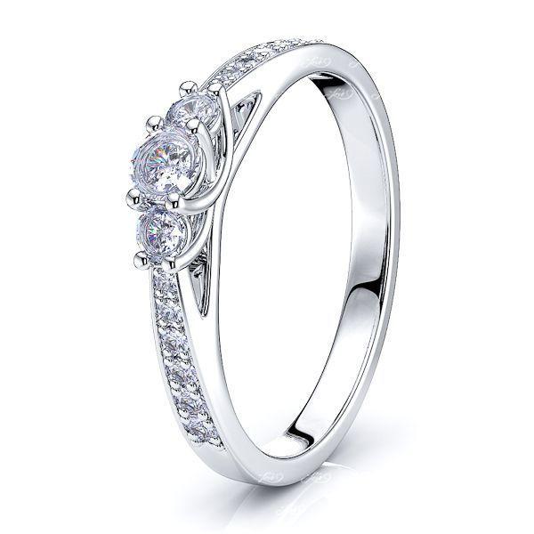 Charline Pave Set Women Anniversary Wedding Ring
