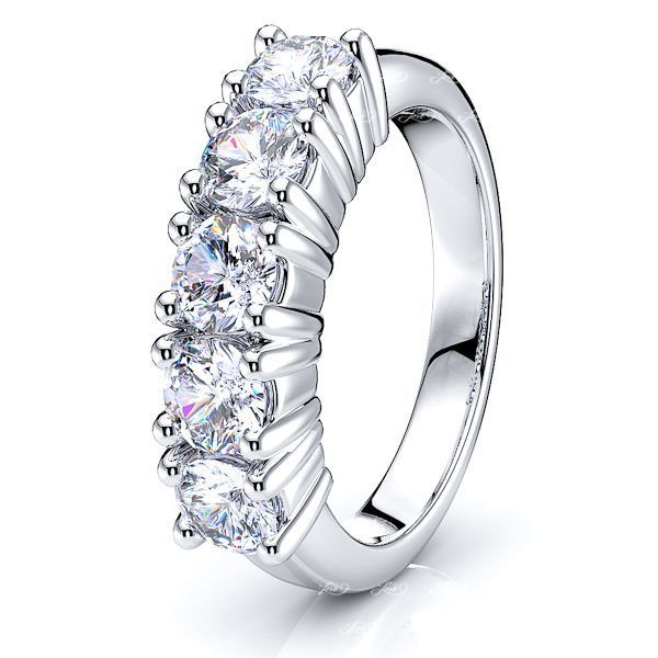 Godelieve Women Anniversary Wedding Ring