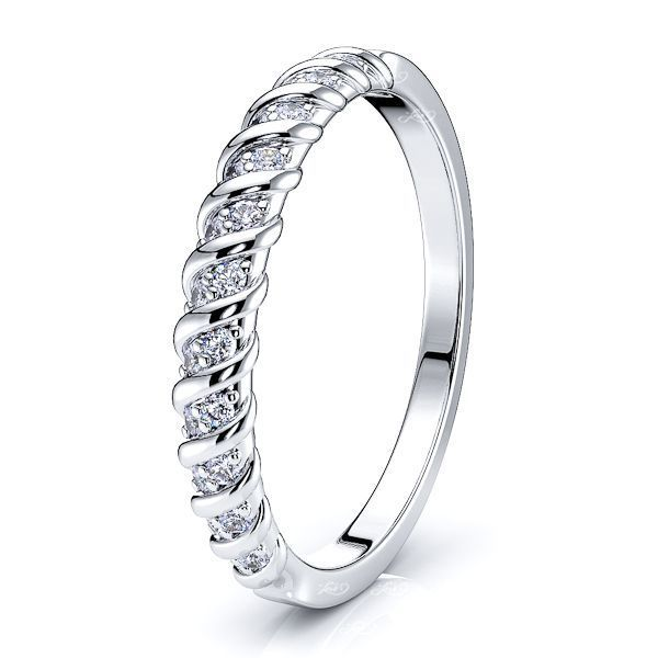 Helewise Women Anniversary Wedding Band