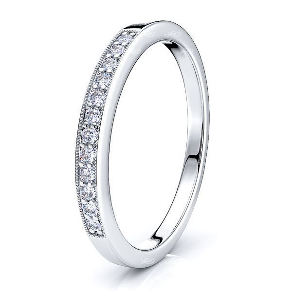Candelas Diamond Women Anniversary Wedding Ring
